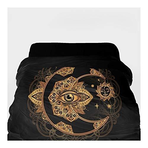 3D-Bettbezug Decke/Tröster Abdeckung 220x240 (Color : 15, Size : 155x215cm)