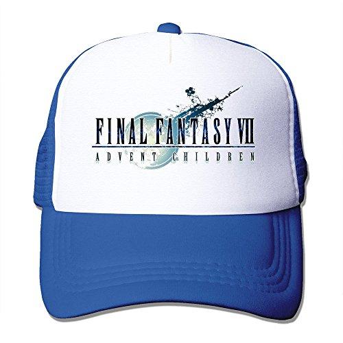Cool Final Fantasy VII: Advent niños Gorra de béisbol Trucker de malla sombrero