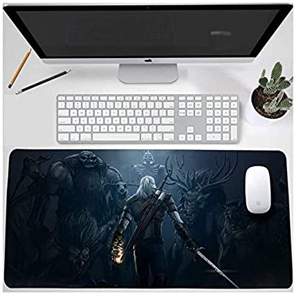 World of Warcraft Gaming Mouse Pad The Witcher gran tamaño ...