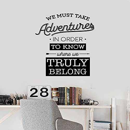 Zdklfm69 Adhesivos Pared Pegatinas de Pared Divertidos aventureros decoración del hogar para bebés y niños Habitaciones decoración Vinilo Mural 77x81cm