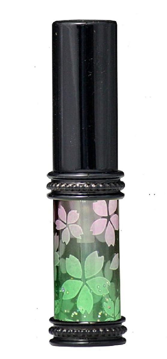 予想するレディプラットフォームヒロセアトマイザー メタルラメさくらアトマイザー 16178 PK/GR(メタルラメさくら ピンク/グリーン) 真鍮玉レット飾り付