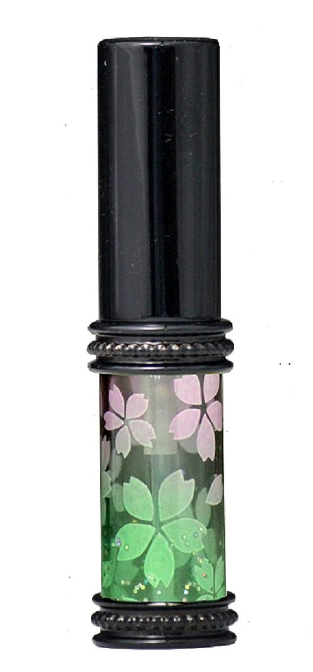 チャンス流す空白ヒロセアトマイザー メタルラメさくらアトマイザー 16178 PK/GR(メタルラメさくら ピンク/グリーン) 真鍮玉レット飾り付