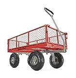Gorilla Carts GOR800-COM Steel Utility...