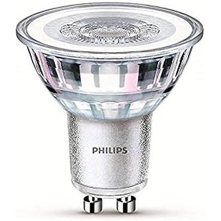 Philips ampoule LED Spot GU10 50W Blanc Froid, Verre, Lot de 2