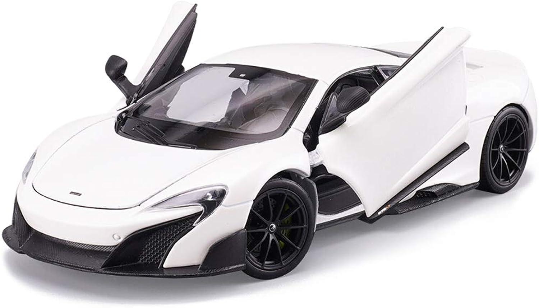 ventas en linea Hyzb Modelo de Coche Coche Coche Coche 1 24 McLaren 675LT Muere aleación de fundición a Troquel Juguete joyería de colección de Coches Deportivos joyería 19x8x5CM  precios razonables