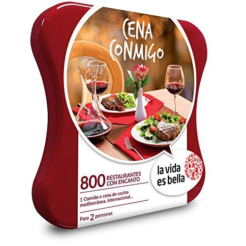 Smartbox Caja Regalo Gastronomía Cena Conmigo de ''La Vida es Bella''