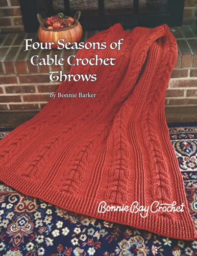 Four Seasons of Cable Crochet Throws