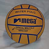 Mega Water Polo - Balón de golf (talla 3), color amarillo
