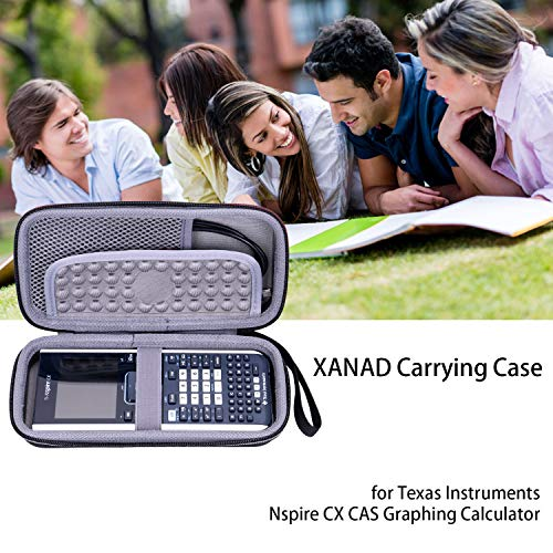 XANAD Hard Travel Carrying Case for Texas Instruments TI-Nspire CX Graphing Calculator - Storage Protective Bag Photo #9