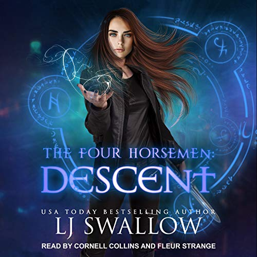 The Four Horsemen: Descent     Four Horsemen Series, Book 6              By:                                                                                                                                 LJ Swallow                               Narrated by:                                                                                                                                 Cornell Collins,                                                                                        Fleur Strange                      Length: 5 hrs and 38 mins     1 rating     Overall 4.0