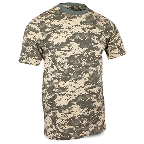 Mil-Tec US Army T-Shirt Camouflage léger (at Digital/S)