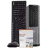 Dell OptiPlex 7010 Desktop Computer PC, Intel i5-3470 3.2GHz, 16GB RAM, 2TB HDD, Windows 10 Pro, Microsoft Office 365 Personal, New 16GB Flash Drive, Wireless Keyboard & Mouse, DVD, Wi-Fi (Renewed)