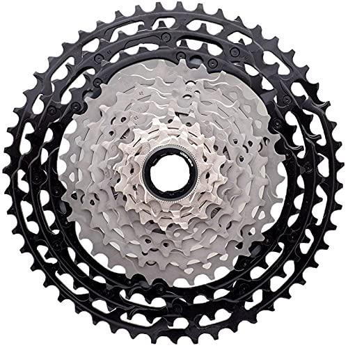 XT M8000 Index 11-40/42 / 46T Ciclismo Bloque de Rueda Libre Tornillo en Cassette Cog, 11 velocidades MTB Bicicleta Rueda Libre Piñón Piezas de Repuesto para Bicicleta (Size : 11-40T)