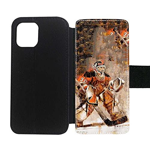 Teléfono Carcasa Rígida De Plástico Creatividad Compatible con 6.7Inch iPhone 12Pro MAX con Hockey 5 Niños