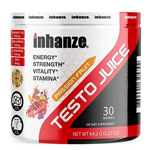 Testo Juice - Test Booster - Promotes Energy, Focus, Mood, Strength & Muscle Growth - Tongkat, Tribulus, Boron - 30 Servings
