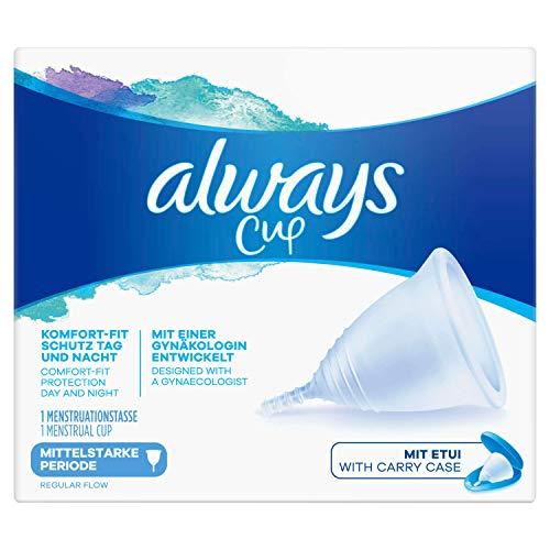 Always Coupe menstruelle pour les périodes modérées avec une gynécologie 30 g