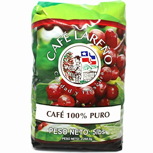 Cafe Lareno - Puerto Rican Roasted Coffee Beans - 5lb