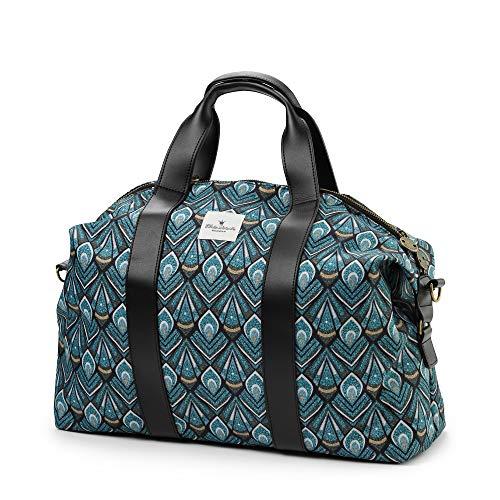 Elodie Details Soft Shell Wickeltasche für kleine Jungen und Mädchen, Accessoires für Mütter (Everest Feathers)