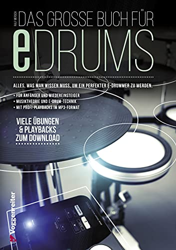 Voggenreiter Das große Buch für E-Drums Bild