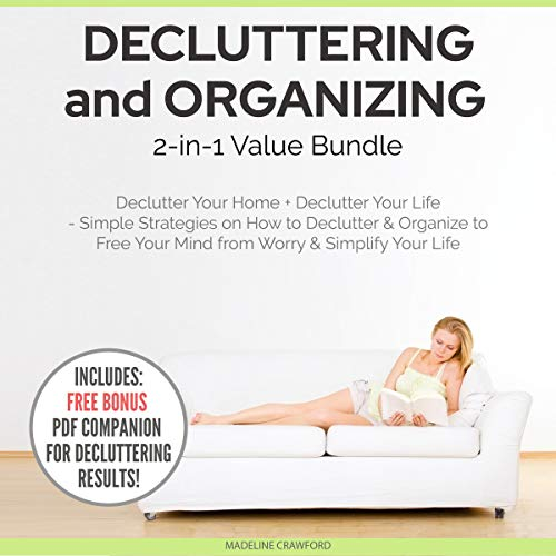 Couverture de Decluttering and Organizing 2-in-1 Value Bundle