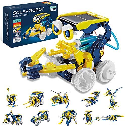 HOMOFY STEM Toys Solar Robot Kit 11-in-1 Educational Science Kits Toys Learning...