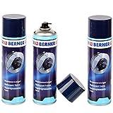 3 limpiadores de frenos de Berner, 500 ml, lata de limpiador de piezas