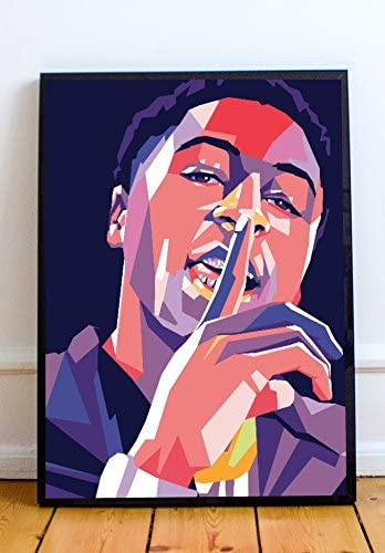 Amazon Com Youngboy Never Broke Again Limited Poster Artwork Professional Wall Art Merchandise More 8x10 Posters Prints