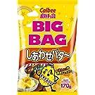 カルビー ポテトチップス ビッグバッグ しあわせバター 170g×12袋