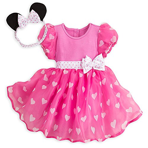 Disney Minnie Mouse Costume Bodysuit for Baby - Pink - Size 0-3 MO