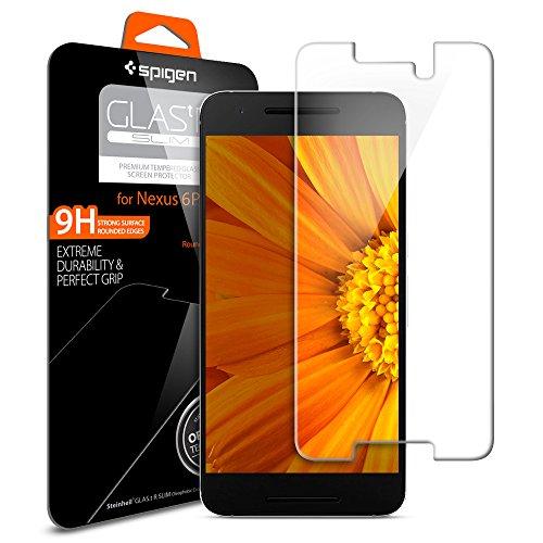 Spigen Nexus 6p Screen Protector Tempered Glass 2 Pack for Google Nexus 6p