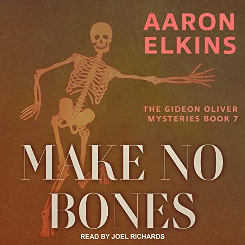 Make No Bones  By  cover art