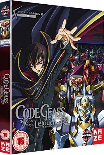 Code Geass: Lelouch Of The Rebellion - Complete Season 2 [UK Import] [6 DVDs]