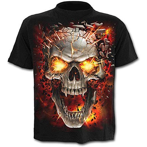 Beyond_AV Herren Realistic Printed 3 Digital Print Tops Fashion T-Shirt (3, XL)