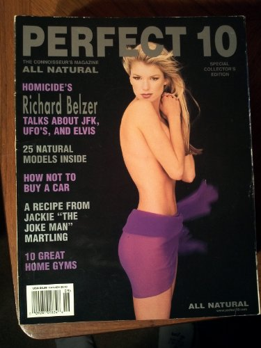 Perfect 10 Magazine - August 1999: Marisa Miller Nude & More!