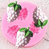 GZDFS Trauben Silikonformen Süßigkeiten Polymer Clay Form DIY Backen Schokoladenform Cupcake...