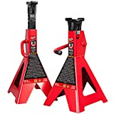 BIG RED T43006 Torin Steel Jack Stands (Fits: SUVs and Extended Height Trucks):...