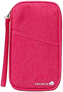 Travel Organiser Passport Ticket Holder, Pink BD-TRVL-3