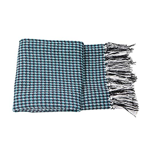 For Sale! YU-CZB Throw Blanket - 100% Cotton Bed End Blanket Sofa Blanket Air Conditioning Blanket f...