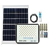 Focos LED Exterior Solares, Foco Con Placa Solar Cable...