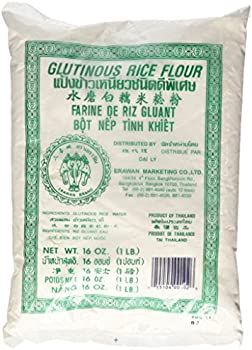 Erawan Dried Sweet 2x 1 Lb Traditional Water Milled Glutinous Rice Flour