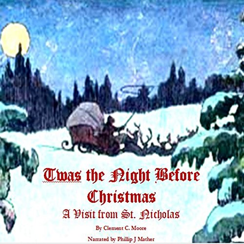 Twas the Night Before Christmas audiobook cover art