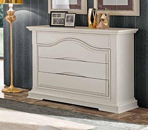 Commo' 4 tiroirs ouverture clic bois décoration maison