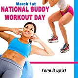 March 1st National Buddy Workout Day - Tone It Up's (Motivational H.I.I.T. High-Intensity Interval Training Workout Session)