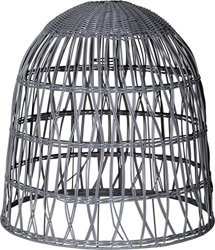 Star Knute lampenkap, metaal, grijs, 48 x 50 cm
