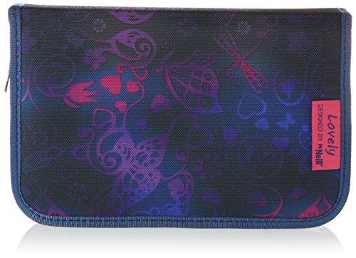 Mc Neill 9072162000 - Etui Lovely gefüllt mit 1 Klappe, violett