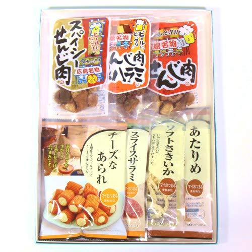 広島名物!せんじ肉を入れたおつまみギフトセットA おかしのマーチ プチギフト