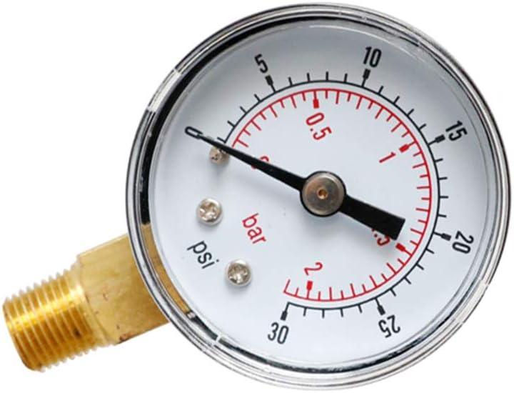 Noband JSFGFSDH Manom/ètre 40 mm Cadran 0,3 cm BSPT vertical 15,30,60,100,160 200 300 PSI /& Bar