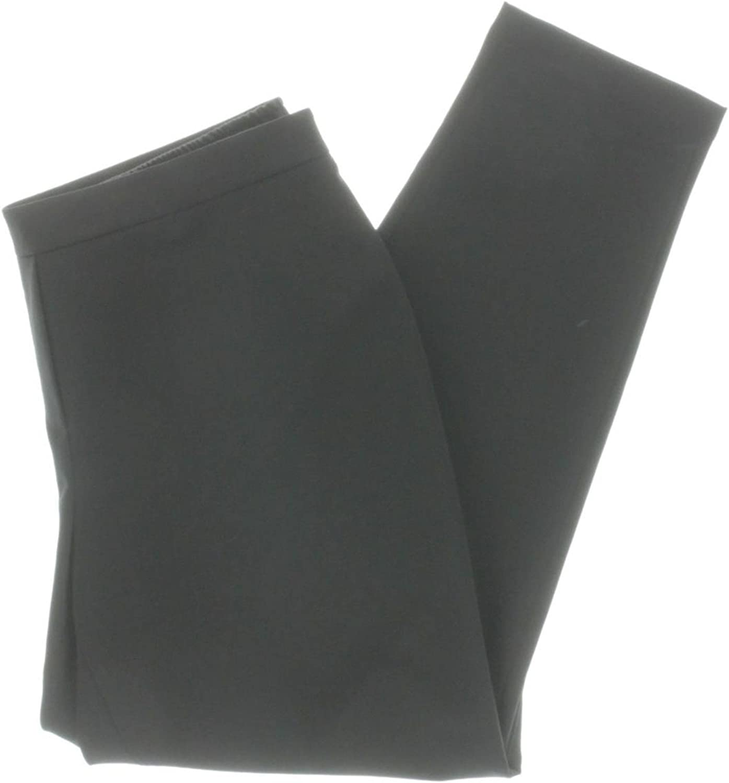 Lafayette 148 New York Womens Soho High Rise Pull On Dress Pants