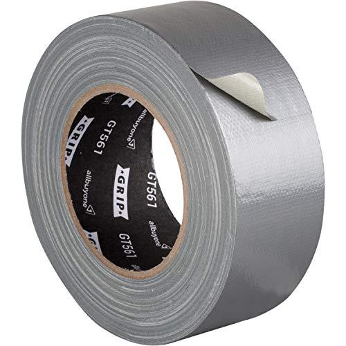 GRIP Eventbasics GT 561 Gaffa Tape silber 50 mm x 50 m, Allround Reparaturband mit starker Klebkraft