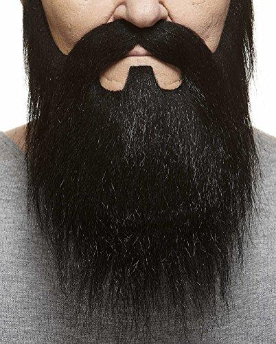 Mustaches Barba y Bigote morenos Estilo Dios